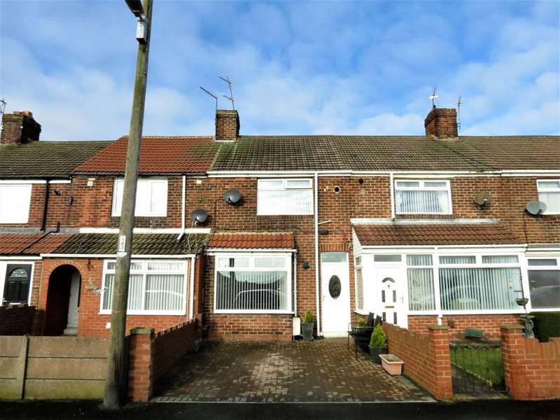 2 Bedrooms Terraced House for sale in Coronation Avenue, Blackhall Colliery, Hartlepool, TS27 4HR