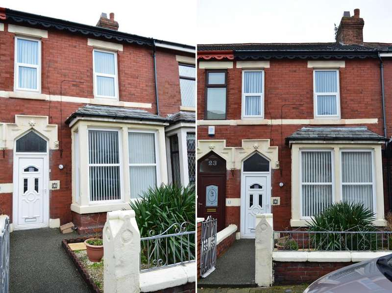 2 Bedrooms Terraced House for sale in Threlfall Road, Blackpool, FY1 6NW