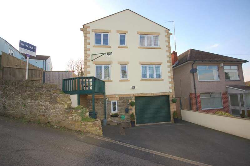 3 Bedrooms Detached House for sale in Polly Barnes Hill, Hanham , Bristol
