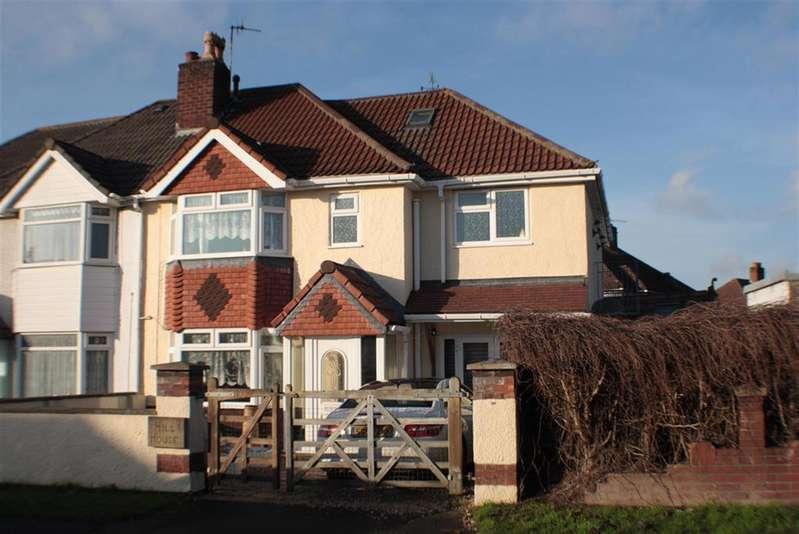 4 Bedrooms Semi Detached House for sale in Headley Park Road, Headley Park, Bristol, BS13 7NJ