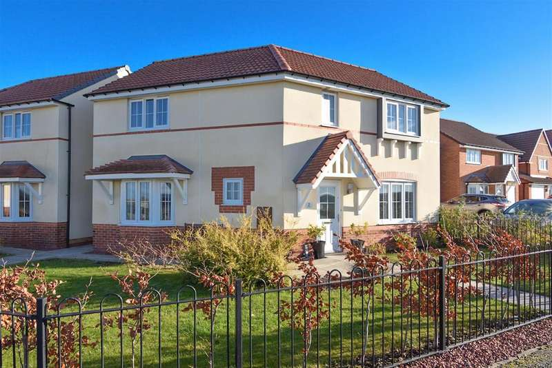 3 Bedrooms Detached House for sale in Elliott Way, Consett, DH8 5XY