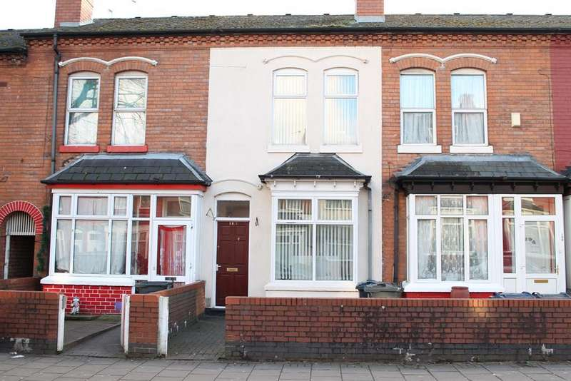3 Bedrooms Terraced House for sale in Antrobus Road, Handsworth, Birmingham, B21 9NU
