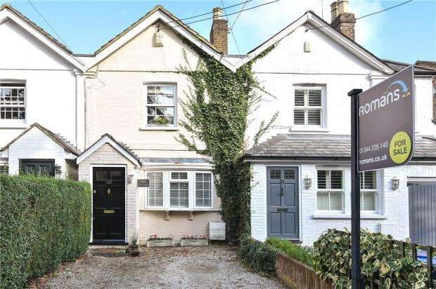 2 Bedrooms Terraced House for sale in Cheapside Road, Ascot, Berkshire
