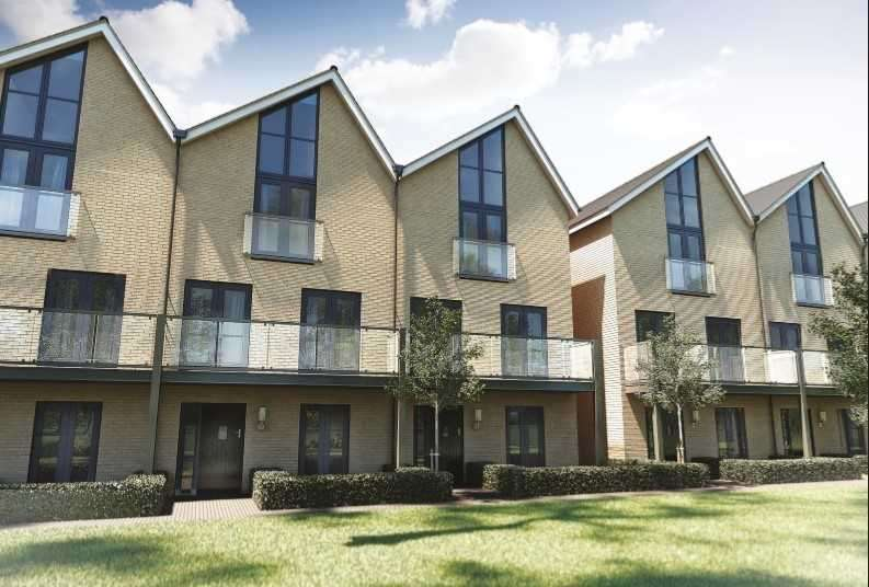4 Bedrooms Town House for sale in The Mersea, Rowhedge Wharf, Colchester