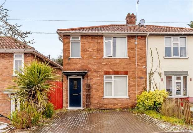 3 Bedrooms Semi Detached House for sale in Gertrude Road, Norwich, Norfolk