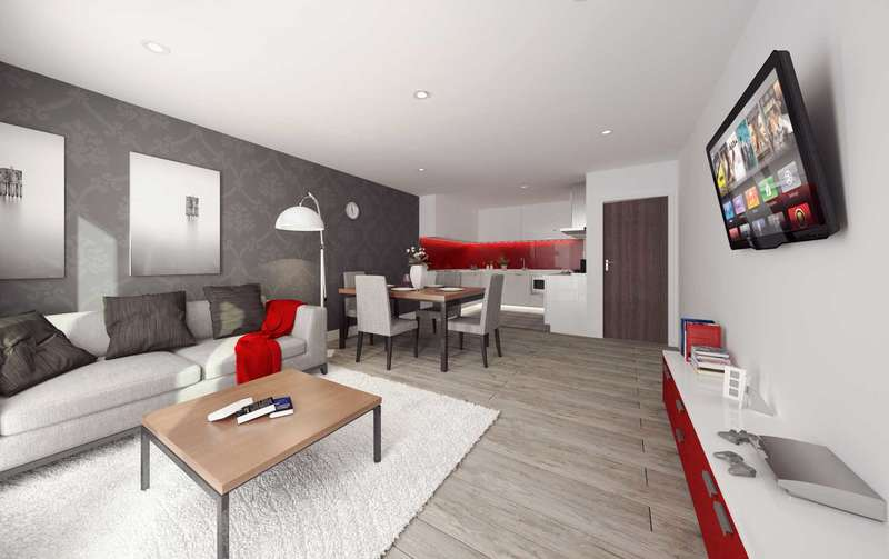 Apartment Flat for sale in Salisbury Place, Liverpool