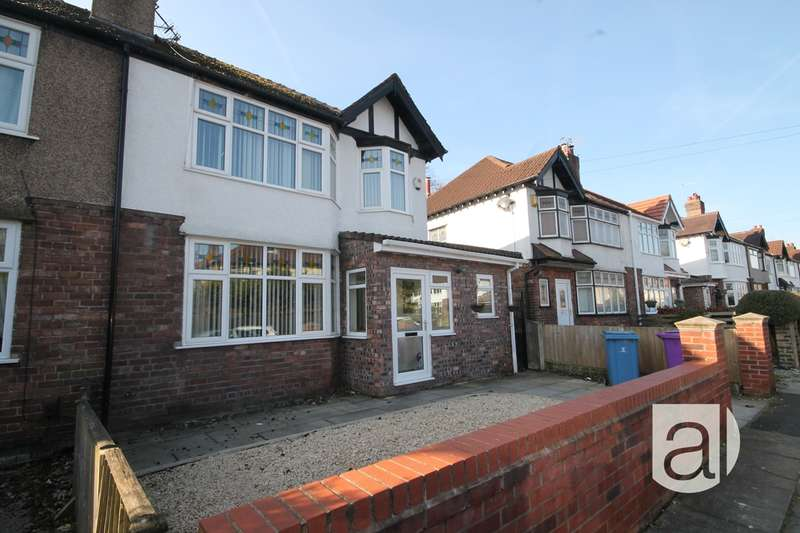 3 Bedrooms Semi Detached House for sale in Belle Vue Road Gateacre L25