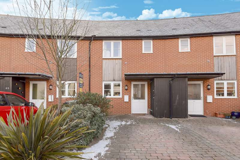 2 Bedrooms Terraced House for sale in Northbrook Crescent, Rooksdown, Basingstoke, RG24
