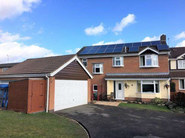4 Bedrooms Detached House for sale in Sycamore Close, Melton Mowbray, LE13