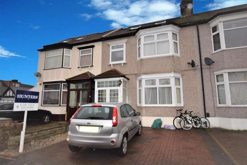 4 Bedrooms Terraced House for sale in Leicester Gardens, Ilford, IG3 8ND