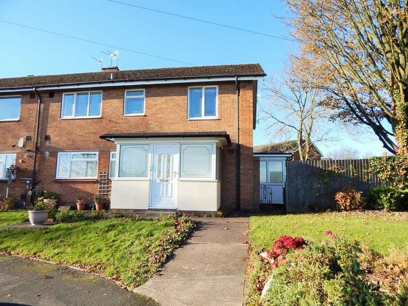2 Bedrooms Maisonette Flat for sale in Hospital Road, Hammerwich, Burntwood, Staffs WS7