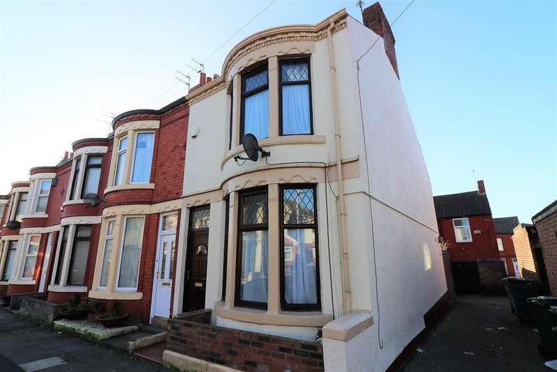 2 Bedrooms Terraced House for rent in Greencroft Road, Wallasey, CH44 4BS