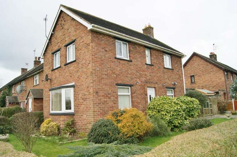 3 Bedrooms End Of Terrace House for sale in Trevalyn Hall View, Rossett