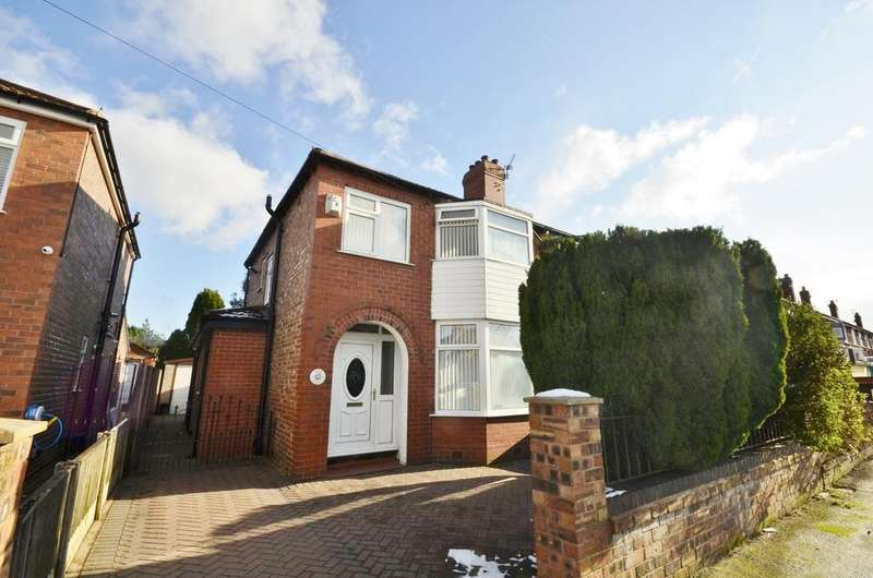 3 Bedrooms Semi Detached House for sale in Riddings Road, Timperley, Altrincham