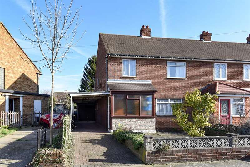 3 Bedrooms End Of Terrace House for sale in Derwent Way, Hornchurch, RM12 5HP