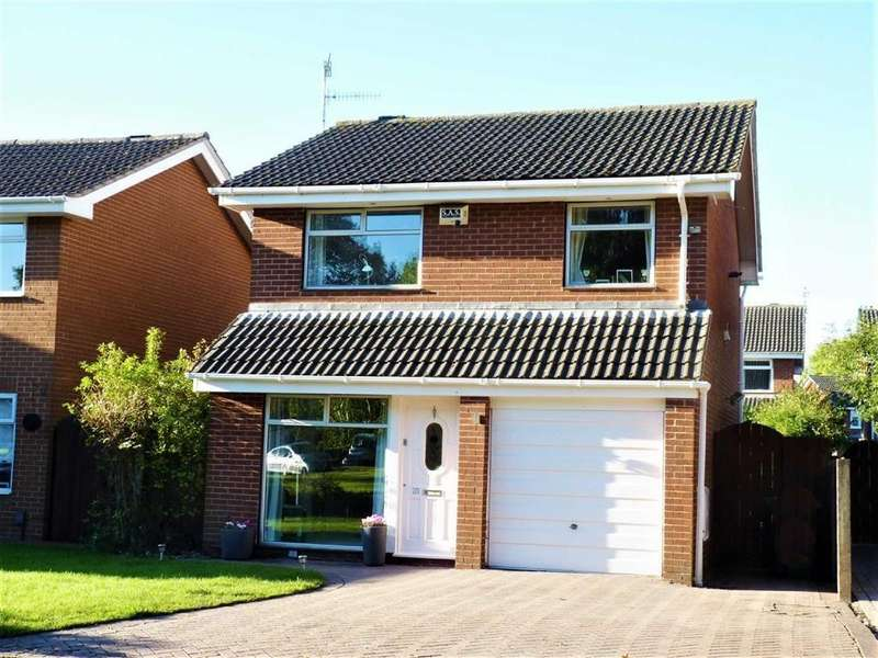 3 Bedrooms Detached House for sale in Stevenson Drive, CH63