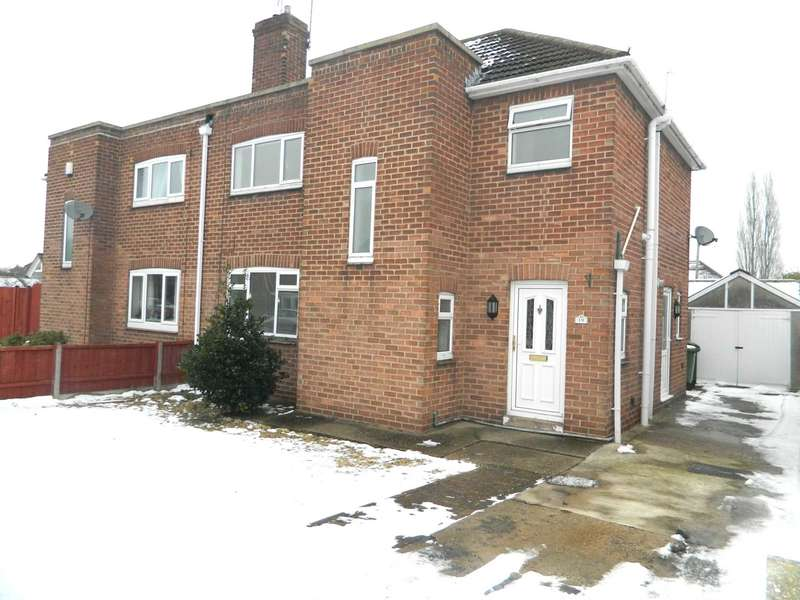 3 Bedrooms Semi Detached House for sale in Richard Avenue, Lincoln