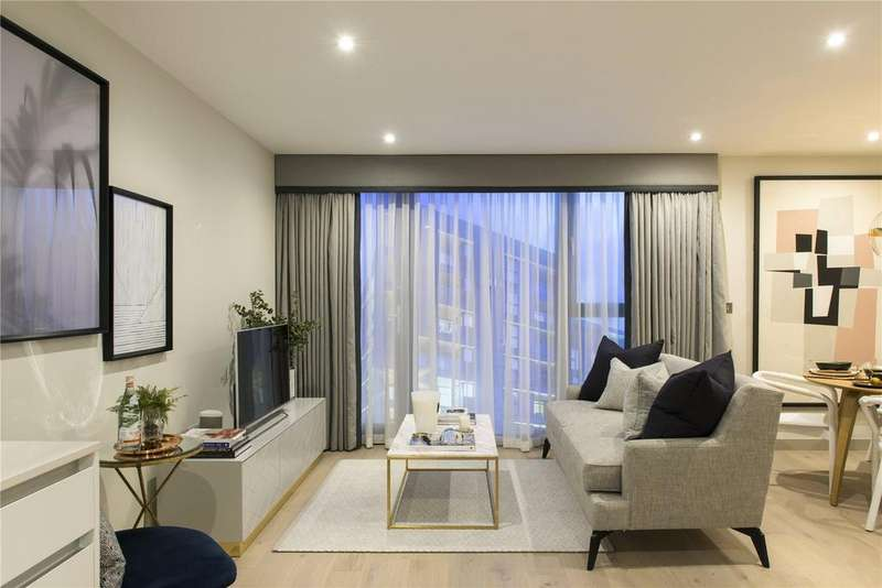 2 Bedrooms Flat for sale in Singapore Road, London, W13