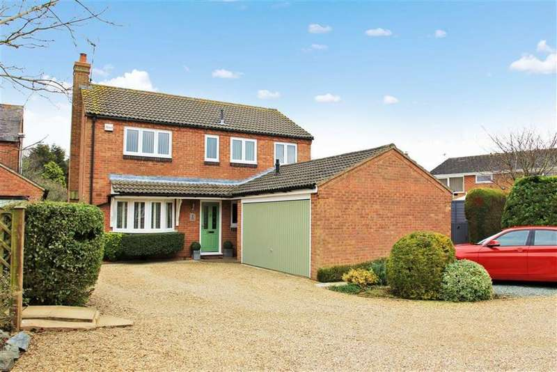 4 Bedrooms Detached House for sale in Firs Close, Houghton On The Hill, Leicestershire