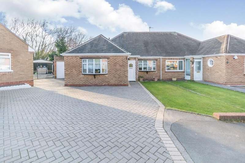 3 Bedrooms Semi Detached Bungalow for sale in Rushbrook Close, Olton