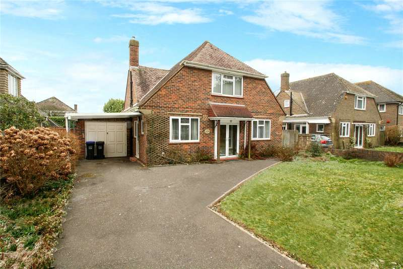 3 Bedrooms Detached Bungalow for sale in Ilex Way, Goring By Sea, Worthing, BN12
