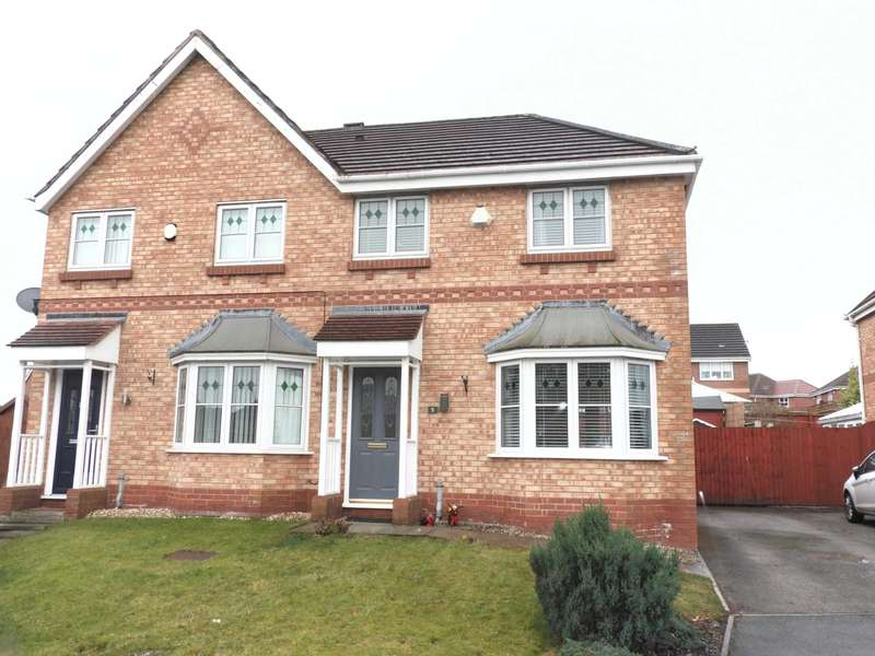 3 Bedrooms Semi Detached House for sale in Elwood Close, Liverpool