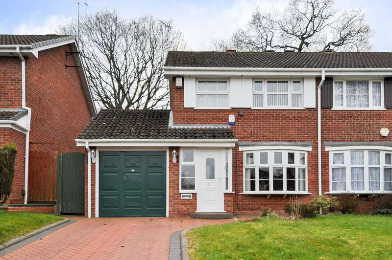 3 Bedrooms Semi Detached House for sale in Rea Valley Drive, Northfield, Birmingham, B31