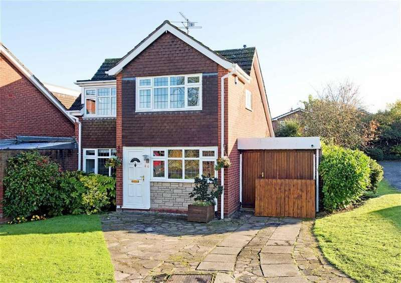 4 Bedrooms Link Detached House for sale in 4, Arrow Drive, Albrighton, Wolverhampton, Shropshire, WV7