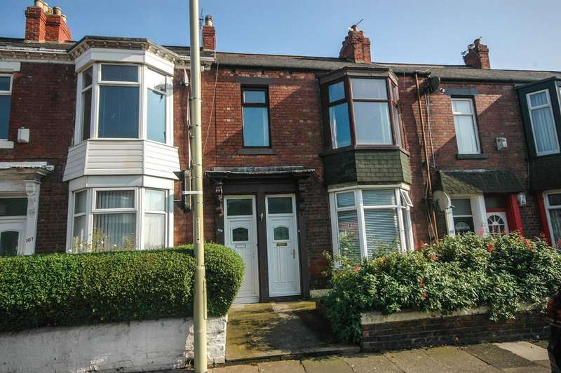 3 Bedrooms Flat for sale in Mortimer Road, South Shields
