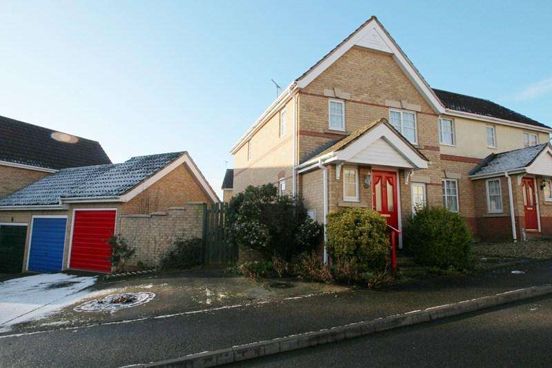 3 Bedrooms Semi Detached House for rent in Apple Tree Close, Halstead