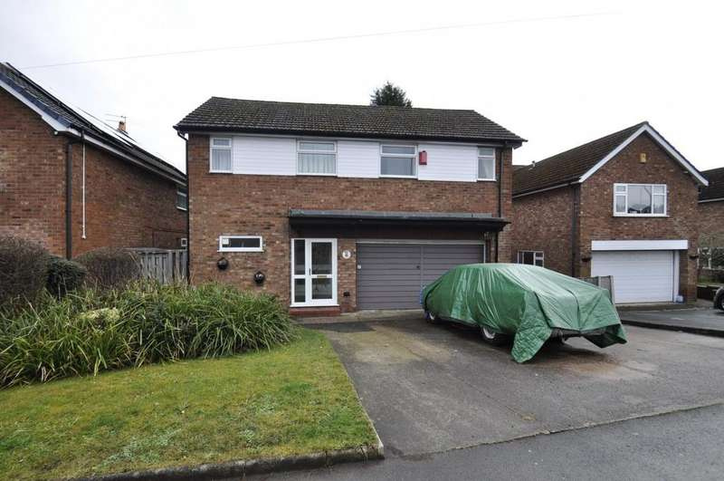 4 Bedrooms Detached House for sale in Gill Bent Road, Cheadle Hulme