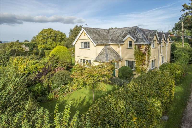 4 Bedrooms Detached House for sale in Angersleigh, Taunton, Somerset, TA3