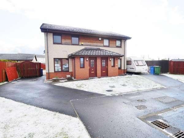 2 Bedrooms Semi-detached Villa House for sale in 5 Bressay Grove, Barlanark, Glasgow, G33 4UR