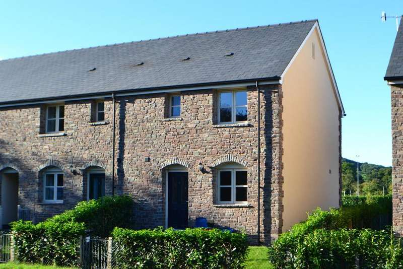 2 Bedrooms Terraced House for rent in Clos Pwll Llestri, Hay-on-Wye, Hereford, Powys