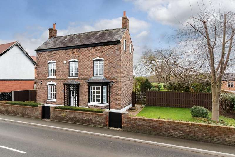 4 Bedrooms Detached House for sale in Church Minshull, Nantwich