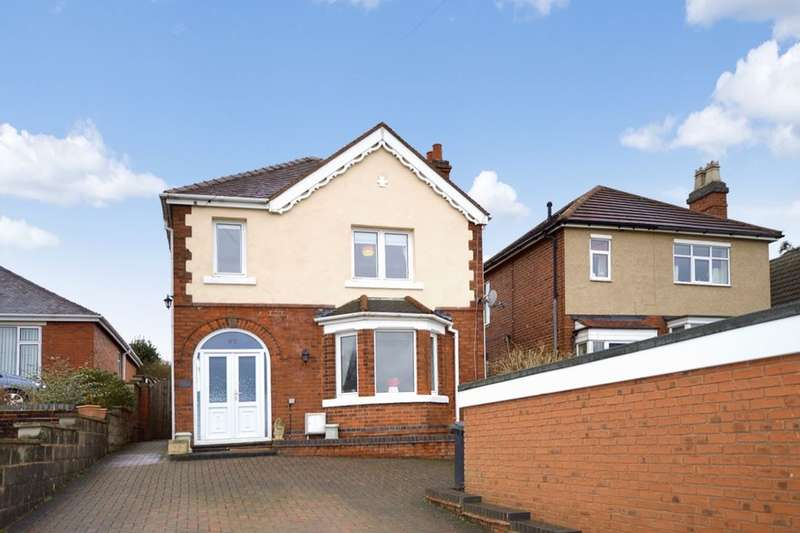 3 Bedrooms Detached House for sale in Sunnyside, Newhall, Swadlincote, DE11