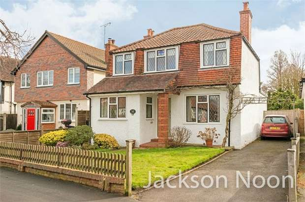 3 Bedrooms Detached House for sale in Lansdowne Road, Ewell