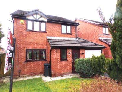 4 Bedrooms Detached House for sale in Higher Drake Meadow, Westhoughton, Bolton, Greater Manchester, BL5