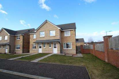 3 Bedrooms Semi Detached House for sale in Rigby Gardens, Eastfields, Carntyne, Glasgow