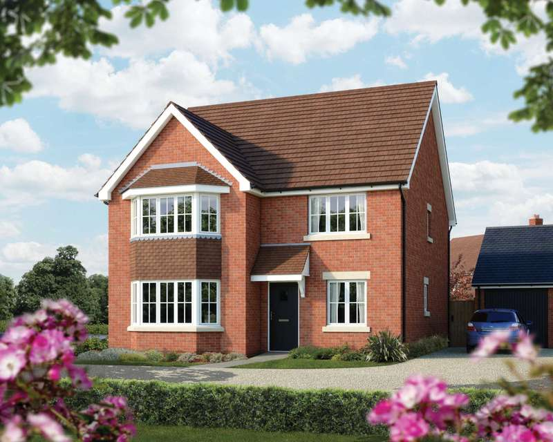 4 Bedrooms Detached House for sale in The Oxford, St Marys, Kings Field, Biddenham