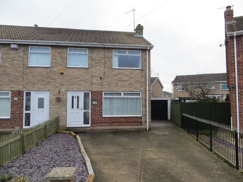 3 Bedrooms Semi Detached House for sale in Thorndale, Sutton Park, Hull, HU7 6DQ