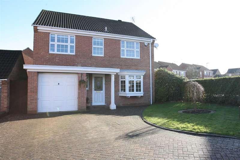 4 Bedrooms Detached House for sale in Jacklin Court, Wellingborough