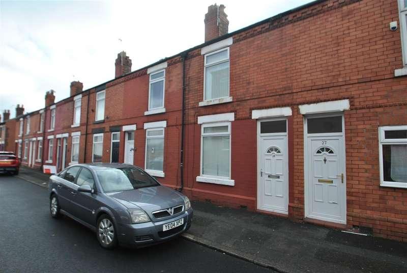 2 Bedrooms Terraced House for sale in Slater Street, LATCHFORD, Warrington, WA4