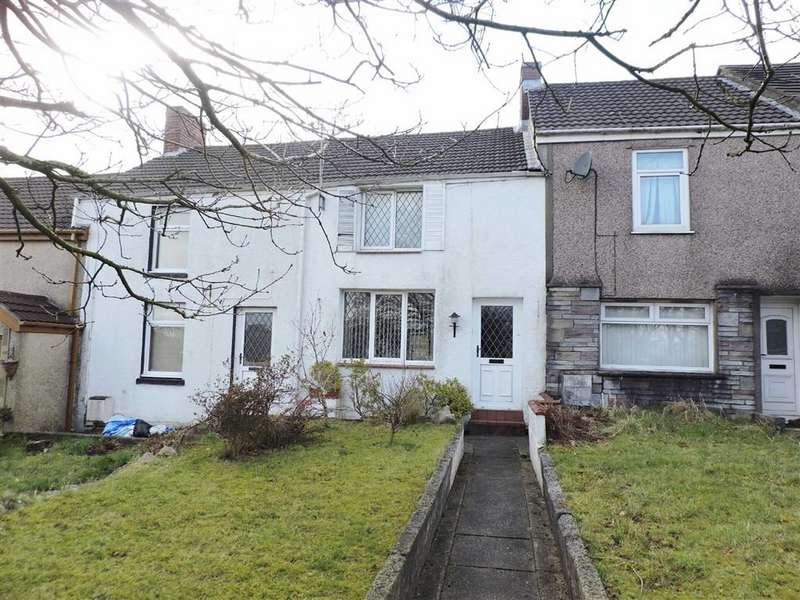2 Bedrooms Terraced House for sale in Llangyfelach Road, Treboeth