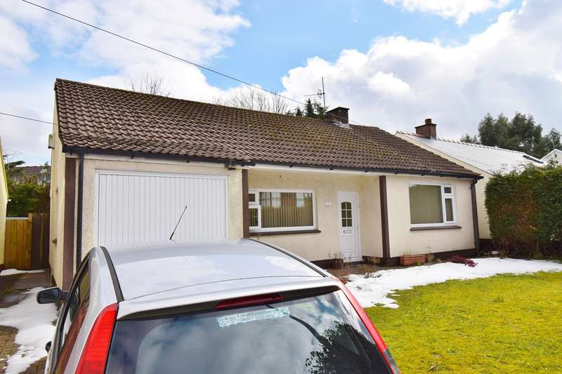 3 Bedrooms Detached Bungalow for sale in Bedwas Road, Caerphilly, CF83