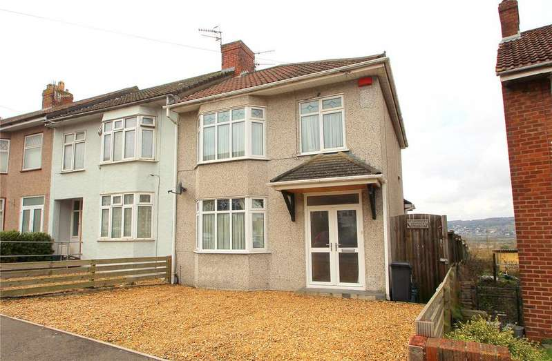 3 Bedrooms End Of Terrace House for sale in Ilchester Crescent, Bedminster Down, BRISTOL, BS13