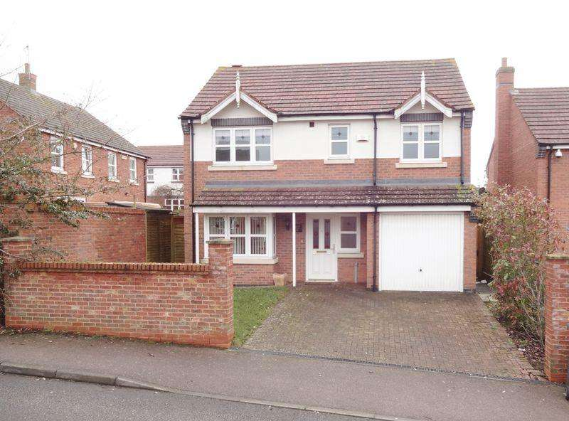 4 Bedrooms Detached House for sale in Chatsworth Road, Oakley Vale, Corby