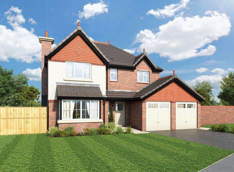 4 Bedrooms Detached House for sale in Plot 38, The Hampsfell Walton Gardens, Liverpool Road, Hutton