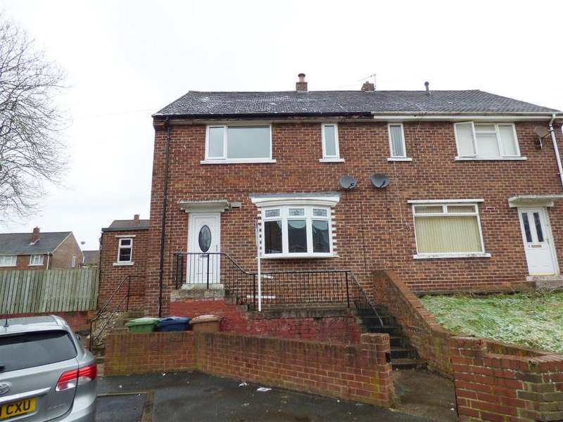 3 Bedrooms Semi Detached House for rent in Loweswater Avenue, Easington Lane, Houghton Le Spring
