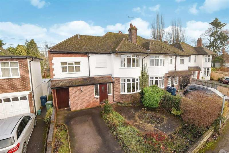 4 Bedrooms Semi Detached House for sale in Staunton Road, Oxford